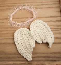 crochet angel wings newborn photo prop baby by LittleMommaBoutique, $18.00