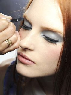 Chanel Fall 2012 Couture Backstage Makeup