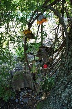 "Environmental Art/Fairy House...""royal palace"""