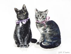 https://www.pinterest.com/LineBotwin/g-i-r-l-y-i-l-l-u-s-t-r-a-t-i-o-n-s/  Custom Pet Portrait 8 x 10 ORIGINAL Watercolor by LauraRowStudio, $150.00