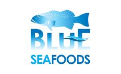 Blue Sea Foods Logo - Logo Graphic Design