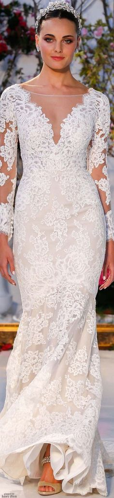 Anne Barge wedding dress - long sleeve wedding dress - Spring 2017