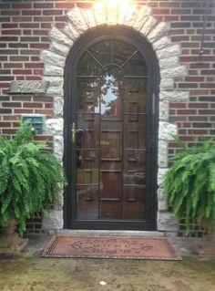 Custom Arched Top Storm Doors Amp Custom Historic Storm
