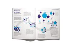 Bilancio Sociale Airc e Firc 2014 on Behance