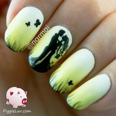 Epic love story: chapter 5 Check out bellashoot.com for more nail looks & share yours!