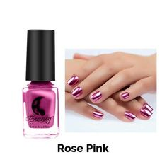 The advantage of the gel is that it allows you to enjoy your French manicure for a long time. There are four different ways to make a French manicure on gel nails. The choice depends on the experience of the nail stylist… Continue Reading → Mirror Nail Polish, Chrome Nail Polish, Mirror Nails, Chrome Nails, Simple Acrylic Nails, Easy Nail Art, Diy Makeup Mirror, Natural Gel Nails, Christmas Manicure