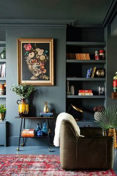 9 Dark Rich Vibrant Rooms That Will Make You Rethink Everything