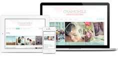 Chamomile WordPress Theme - Responsive. For use on self-hosted WordPress.org sites.
