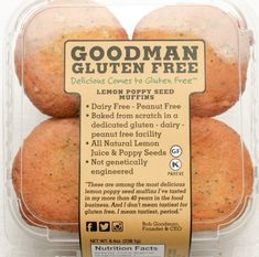 Did you know eating poppy seeds, commonly used in muffins, bread, and bagels, can be enough to trigger a positive reading on a drug test? Dairy Free Appetizers, Dairy Free Snacks, Gluten Free Breakfasts, Gluten Free Recipes, Lemon Poppy Muffins, Lemon Poppyseed Muffins, Gluten Free Bakery, Gluten Free Muffins, Gluten Free Dinner
