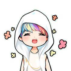 K-Pop inspiration › Exo Fanart, Chanbaek Fanart, Hunhan, Anime Kawaii, Kawaii Art, Chibi Exo, Anime Chibi, Exo Cartoon, Cartoon Images