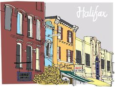 #Halifax #NovaScotia City Guide via Design Sponge