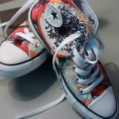 Chuck Taylor Converse Sprinkled Donuts Never Worn Sprinkled Donuts High Top Chuck Taylors. Converse Shoes Sneakers