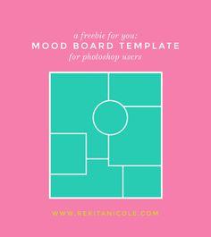 Free MoodBoard for photoshop users! Mood Board Monday: Fruity · Rekita Nicole