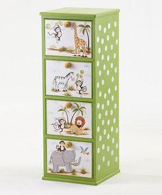 Green Safari Cabinet by Kindergarten Plus on #zulily
