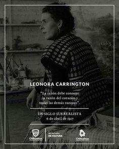 #Efeméride #LeonoraCarrington #Carrington100 La pintora, escultura, escritora y contadora de historias, Leonora Carrington, nació un 6 de abril de 1917. A cien años de su nacimiento su valor e influencia en el mundo sigue presente, a través de su obra y su personalidad.