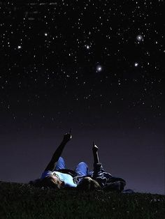 Underneath the stars...