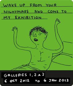 David Shrigley exhibition