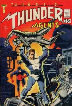 1965 Alley Award: Best Giant Comic - T.H.U.N.D.E.R. Agents #1 (http://www.comics.org/issue/19615/), by Len Brown, Wally Wood, Reed Crandall, Gil Kane, George Tuska, Mike Sekowsky  (Tower Comics)