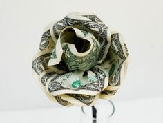 how to make money rose bouquet - Google Search