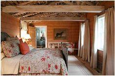dormitor romantic in hambar