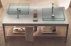 Agape Minuetto Glass Basins