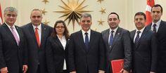 Cumhurbaşkanı Gül, TADF Heyetini Kabul Etti