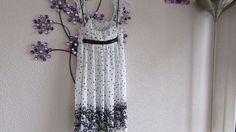 RIVER ISLAND  Flowered  Lined  Dress - Size 8  #RiverIsland #CocktailDress