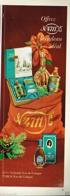 Publicité advertising 1969 Eau de Cologne 4711 Tosca   eBay