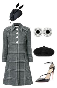 """Untitled #778"" by lovelifesdreams on Polyvore featuring Marco de Vincenzo, Christian Louboutin, Edie Parker and Allurez"