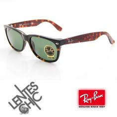 6141c4f20d0ac Ray Ban New Wayfarer 2132 902 L Carey Green Icons en Mercado Libre Colombia