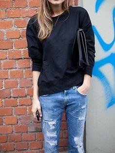black Nachhaltige Mode, Mode Automne, Chaussure Mode, Looks Mode, Prêt À  Porter f963a5e25746