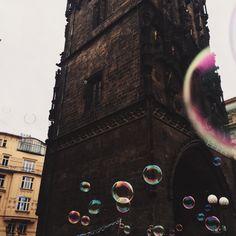 Bubbles in Prague
