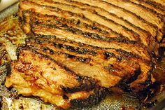 All Night BBQ Beef Brisket by Sweetnicks (courtesy Diners, Drive-ins, and Dives - Food Network)