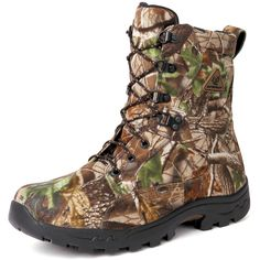 ProLight Waterproof Hunting Boots $114.99 APG is an ideal turkey hunting camo. No matter where or when you hunt, you can trust Realtree APG™ to deliver the kind of season and region versatility you demand. This is why it is so great to have this particular type of camo constructed into your boots.