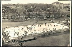 Ice Rink at Memorial Stadium. I skated here many times. I also played in that schoolyard. Great memories.