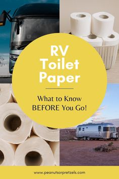 As you may know, an RV may feel a lot like a house on wheels but there can be issues when using household products in your RV. Toilet paper is a perfect example! We've met numerous RVer's over the years who did not realize that they needed special RV toilet paper for their rigs. And we've also seen them in campgrounds dealing with the effects, such as trying to unclog their black tank on a lovely Saturday afternoon! Definitely not a fun way to spend your day. Rv Travel, Travel Advice, Travel Tips, Travel Couple, Family Travel, Rv Toilet Paper, Septic Tank Systems, Road Trip Planner, Road Trip Games