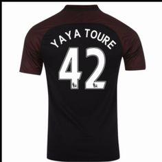 Manchester City 16-17 #Yaya Toure 42  Udebanesæt Kort ærmer,208,58KR,shirtshopservice@gmail.com