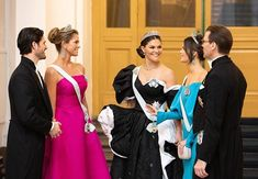 """ Crown Princess Victoria,Princess Madeleine, Prince Carl Philip, Princess Sofia and Prince Daniel during the annual Nobel Prize Banquet at the Concert Hall on December in Stockholm,. Princess Victoria Of Sweden, Princess Estelle, Crown Princess Victoria, Crown Princess Mary, Prince And Princess, Gala Dinner, Prinz Carl Philip, Swedish Royalty, Nobel Prize"