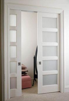 белые двери в интерьере - Пошук Google