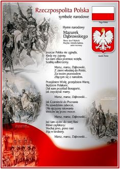 pl resource hymn_i_godlo. Poland Culture, Polish Names, Poland History, Polish Language, Polish Christmas, Visit Poland, Polish Folk Art, Polish Recipes, My Heritage
