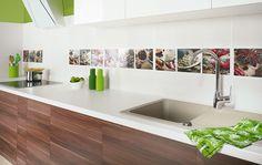 Wyjątkowość każdego z pomieszczeń podkreślić można wybierając z szerokiego wachlarza wielobarwnych insert. Dekoracje z motywem kwiatowym lub delikatną różową grafiką- do łazienki. Natomiast do kuchni- intensywne kolory ziół i przypraw. https://www.facebook.com/CeramikaParadyz http://www.paradyz.com/plytki/kuchenne/briosa-purio-1