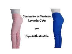 Aprende a hacer un PANTALÓN Levanta Colas - Curso de costura Diy Clothes, Sewing Patterns, Pajama Pants, Videos, Jeans, People, Fashion, Patron Couture, Pleated Pants