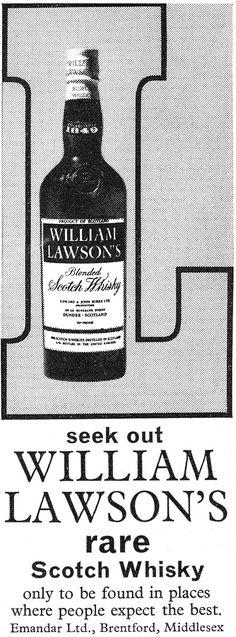 Old drinks advert