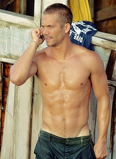 Hello? Yes, I'm at home. Just come around... [what abs <3]