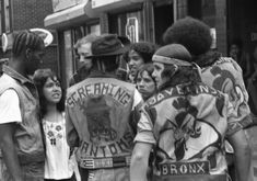 Travel back in time to see what NYC life was like right before hip-hop exploded and motorcycle jackets were replaced by Cross Colours and Karl Kani. B Boy Stance, Gangs Of New York, Black Spades, Nyc Life, Star Wars, Life Is Like, Big Love, Vintage Pictures, Mafia