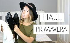 Haul Primavera!! Zara, Pull & Bear, H&M, Asos... Youtube Video. Trendencies TV