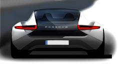 Porsche 911 concept sketch / Follow my MOTO sketches  board!