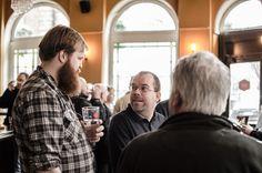 Launch of Siren Craft Brew at Crafty Brew Co in Clerkenwell 09/03/13 #craftbrew#sirencraft brew#voyagedesign