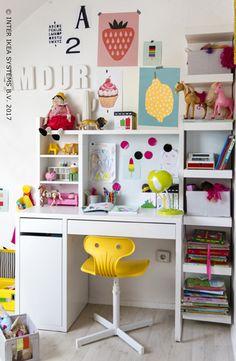 Lovely Ikea Desk Storage Ideas
