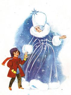 'The Snow Queen' by Anny Hoffmann [Pestalozzi Verlag] by aMJel, via Flickr